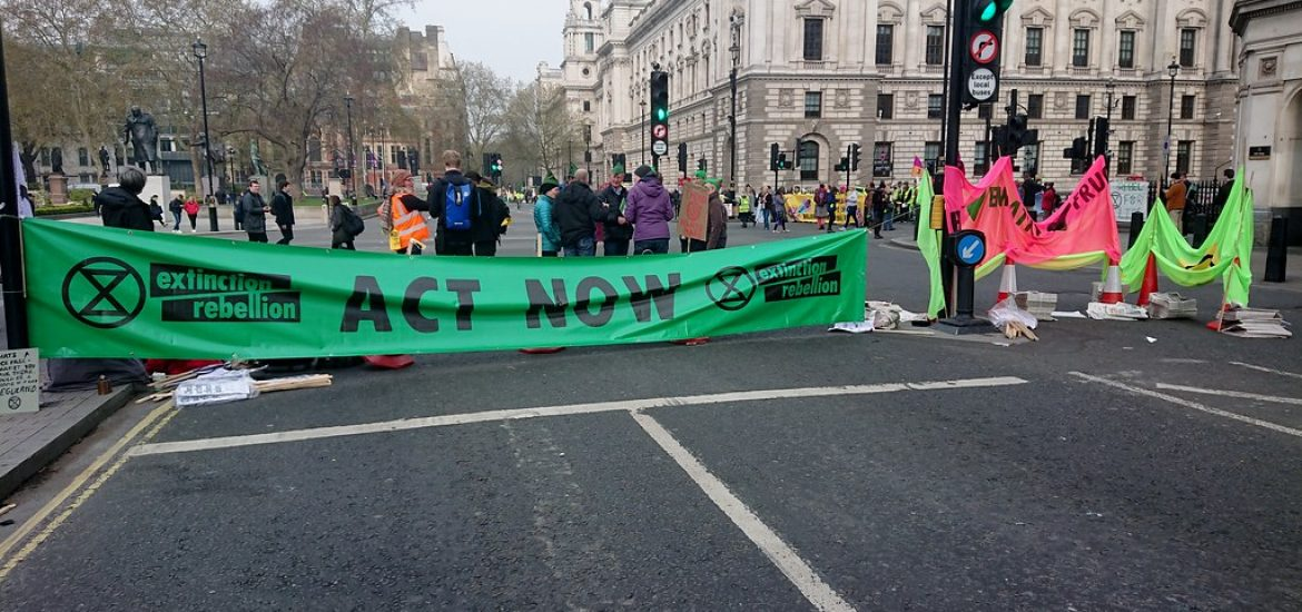 135 arrests in London Relating to Extinction Rebellion Protests