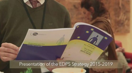 EDPS – Big Data, Big Data Protection. 2015-2019 Strategic Plan by the EDPS