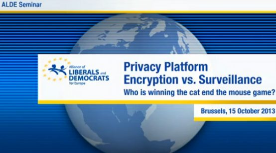 ALDE – Privacy Platform: Encryption vs. Surveillance