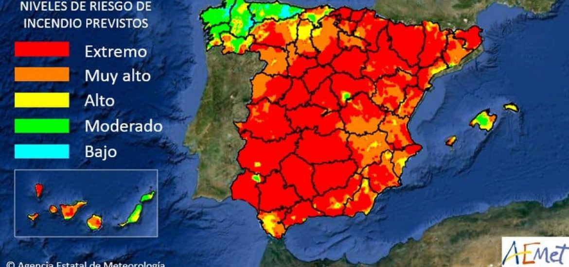 Scorching Heat of Up to 46 Degrees Celsius Claims 9 Lives in Spain