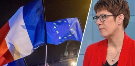 Merkel's Successor AKK Partly Echoes Macron's Vision on How 'Europe Must Become Stronger'