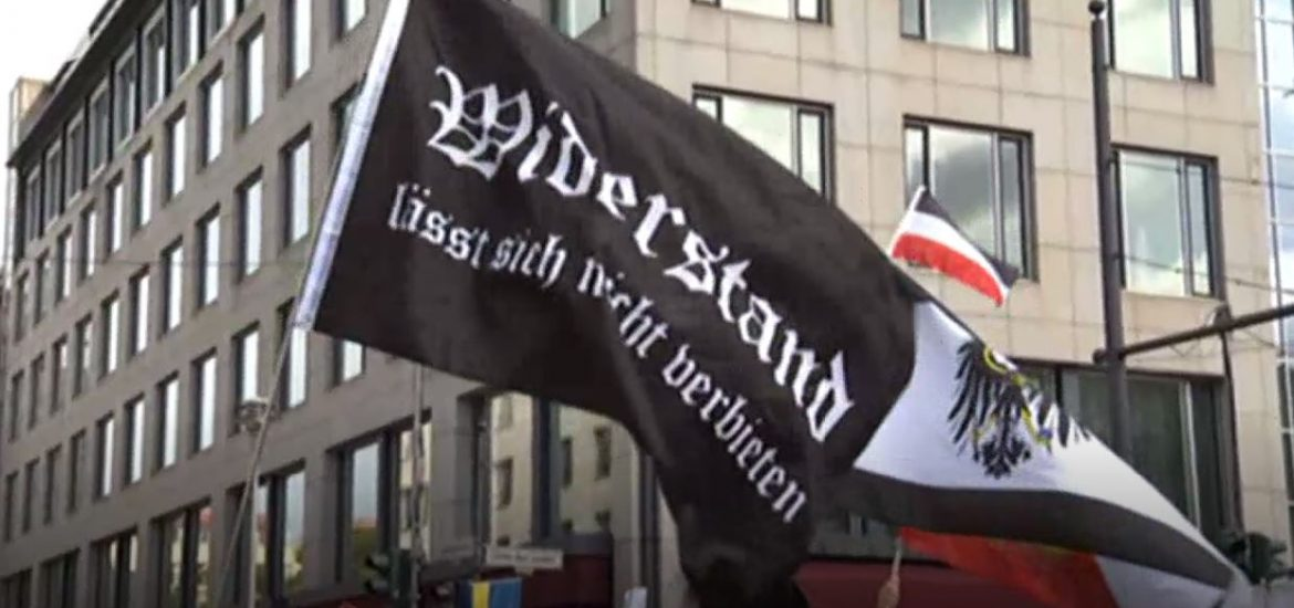 Far-Right Protesters Try to Storm German Parliament amid Rally against Coronavirus Measures
