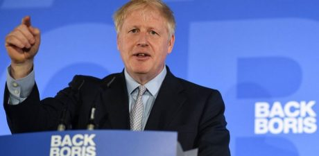 Arch-Brexiteer Boris Johnson Emerges as Leader in UK Conservative Party Race after First Vote
