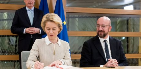 Brexit Withdrawal Agreement Signed by EU Leaders