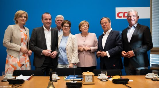 Macron Supports Merkel to Become President of New European Commission