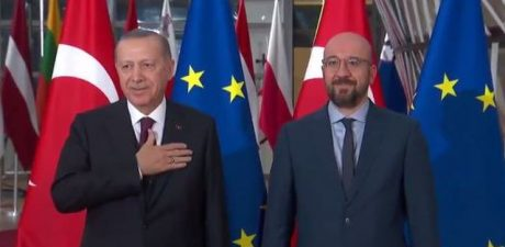 EU, Turkey 'Committed' to 2016 Migrant Deal, Erdogan's Talks in Brussels 'Fruitful'