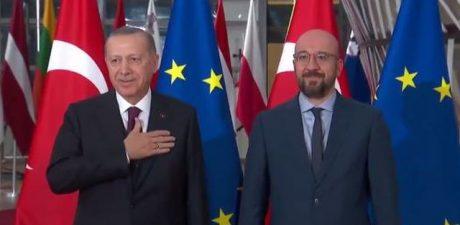 EU, Turkey 'Committed' to 2016 Migrant Deal, Erdogan's Talks in Brussels 'Fruitful'