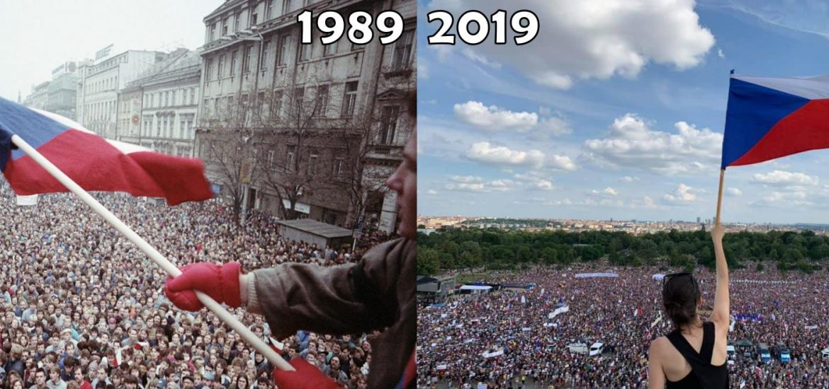 250,000 Rally against Babiš in Czech Republic's Largest Protest since Fall of Communism in 1989