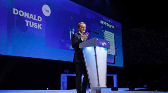 Unopposed Donald Tusk Elected President of European People's Party in a Landslide