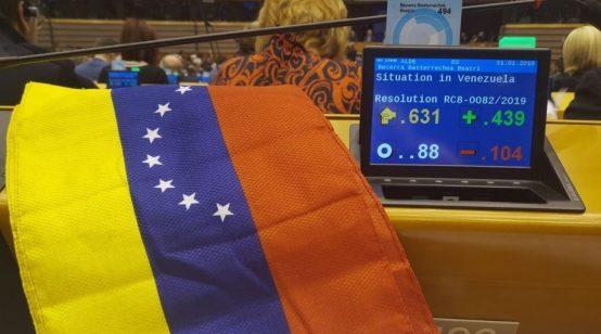 EU Parliament Recognizes Guaido as Venezuela's President, Tells Union to Follow Suit