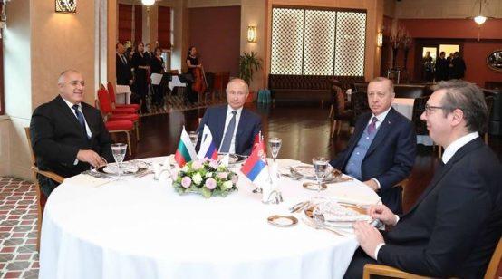 The Brady Bunch of Eurasia: Putin, Erdogan, Borisov, Vucic; Jets, Missiles, TurkStream, Balkan Stream, et. Al.