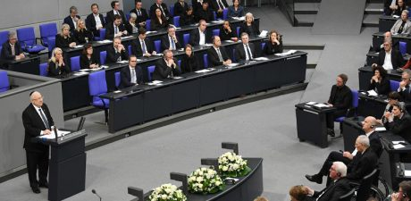 Israel's President Rivlin Addresses Germany's Bundestag