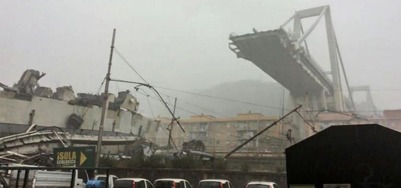Road Bridge Collapses in Italy's Genoa, Dozens Feared Dead