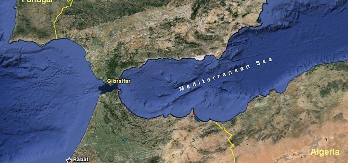 Map Of Spain Gibraltar And Morocco.Spain Strikes Deal With Morocco To Hand It Migrants Rescued At Sea