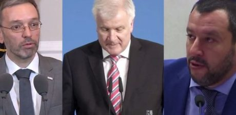 Hardline Interior Ministers of Austria, Germany, Italy 'Agree' on Cutting Migrant Influx via Mediterranean