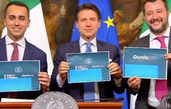 Italy Set for No-Confidence Vote of Conte Cabinet at Far-Leader Salvini's Insistence