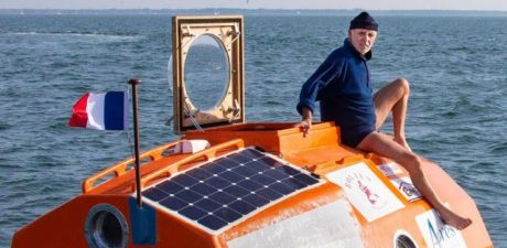 71-Year-Old Frenchman Sets Out to Cross the Atlantic in Barrel Capsule