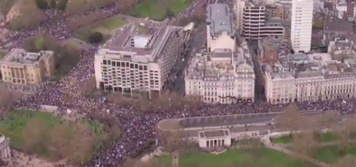 1 Million Brits March for Second Brexit Referendum in London