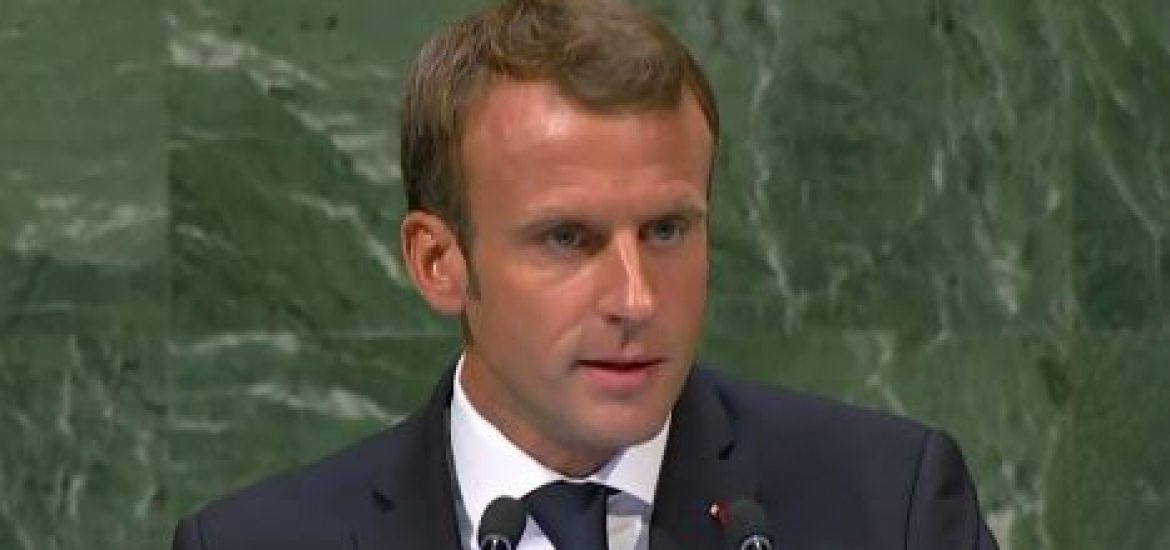 Macron Scolds Trump for Espousing 'Law of the Jungle' in UN Speech