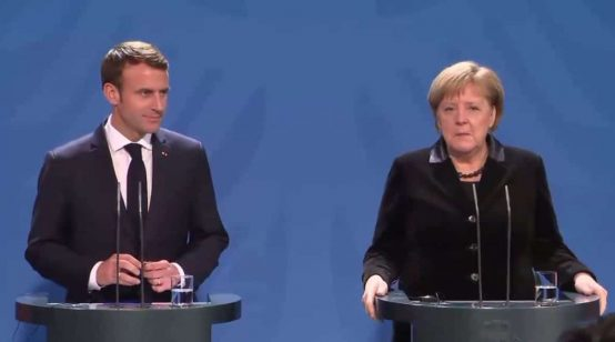 Macron Calls for Reviving Franco-Germany to Lead EU Forward in Bundestag Speech