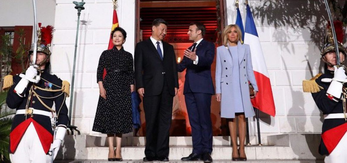 Macron Demands 'Reciprocity' from Xi on China's Belt and Road Initiative