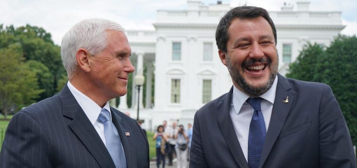 Italy Wants to Be America's 'Most Solid' EU Ally, Salvini Says on Washington Trip