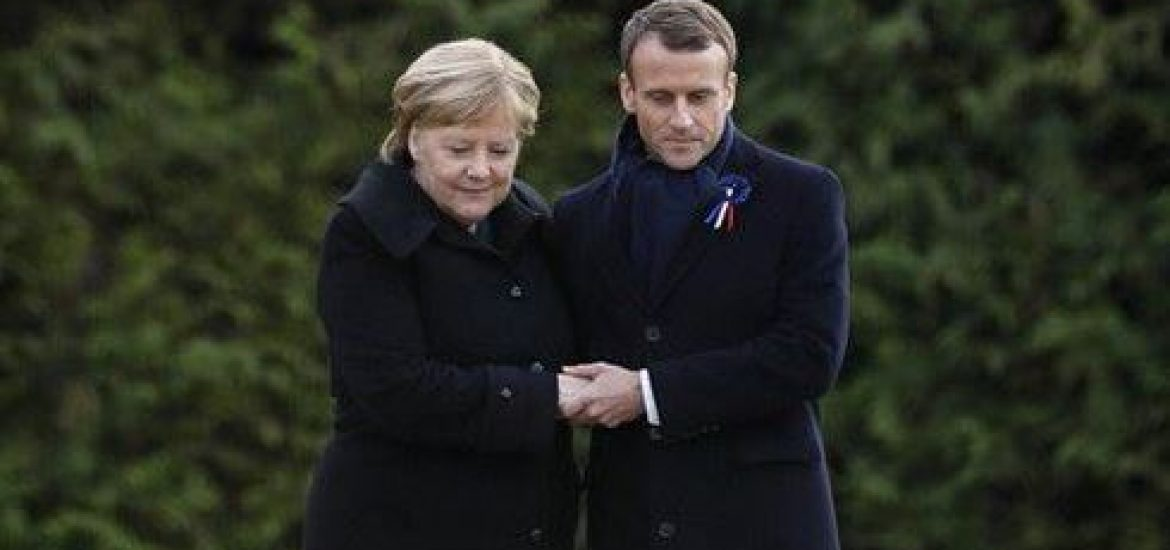 Merkel Admits to 'Scuffles' with Macron, Insists Franco-Germany Always Finds 'Middle Way'