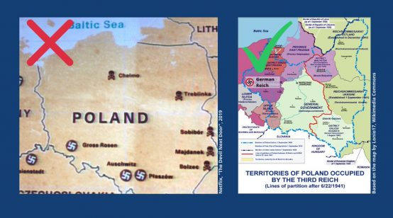 Poland Outraged by Map in Neftlix Documentary on Nazi Death Camp Guard