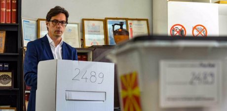Pro-Western Candidate Scores Tiny Lead in North Macedonia's Presidential Election