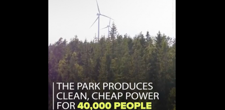 EU-Funded Project: A Swedish Wind Farm
