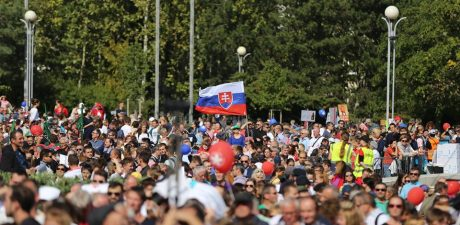 50,000 Rally in Bratislava Demanding Total Abortion Ban in Slovakia