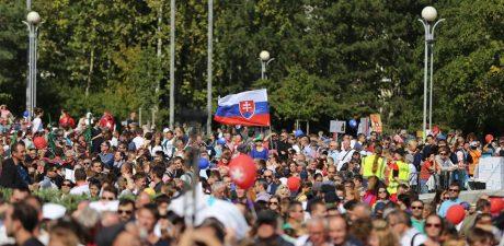 50,000 Rally in Bratislava Demanding Total Abortion Ban in Slovakia