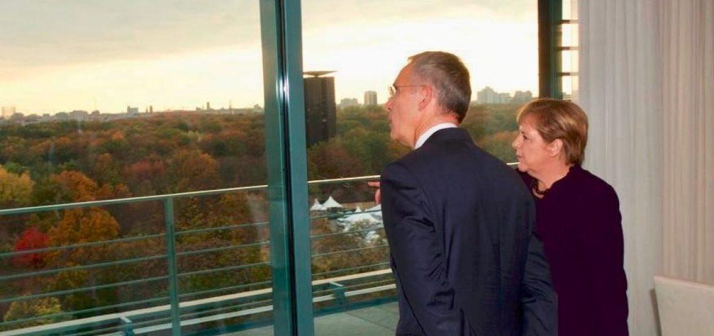 Merkel Scolds Macron for 'NATO Is Brain Dead' Comment
