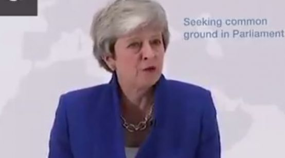 May Lures UK Parliament with 2nd Referendum Vote if They Pass Brexit Deal with EU