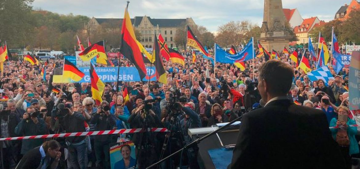 Far-Right AfD Beats Merkel's Ruling Conservatives in German State Thuringia's Election