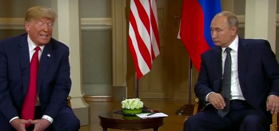 Trump Stuns US by Defending Russia against American Intelligence at Putin Meeting