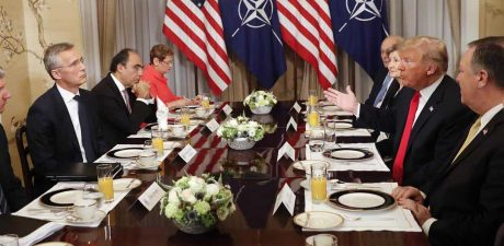 Trump Roasts Germany as 'Totally Controlled by Russia' before NATO Summit
