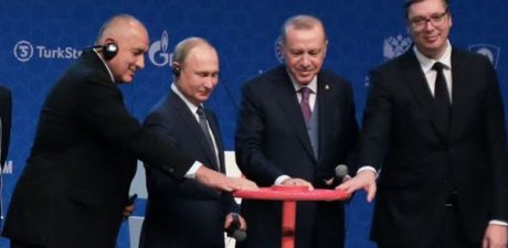 Russia, Turkey Launch TurkStream Gas Pipeline with Bulgaria, Serbia