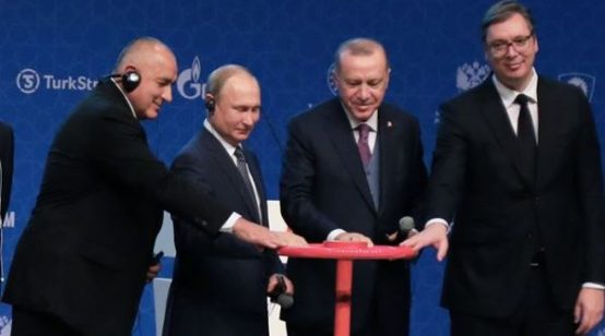 Russia, Turkey Launch TurkStream Gas Pipeline with Bulgaria, Serbia