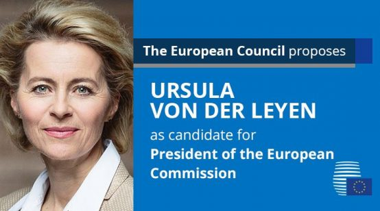 Germany's Ursula von der Leyen Nominated as Next EU Commission President, France's Christine Lagarde as ECB Chief