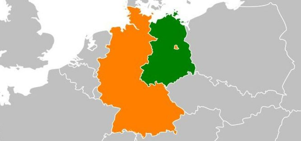 Map Of East Germany West Germany.Former East Germany Still Lagging Far Behind West Germany 29