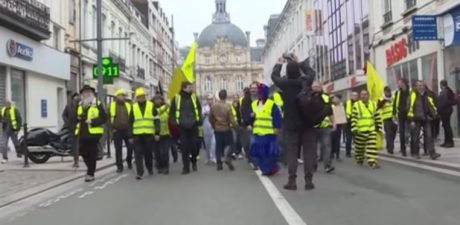 Violence Backlash, Tighter Secirity Bring Down Yellow Vest Clashes in France