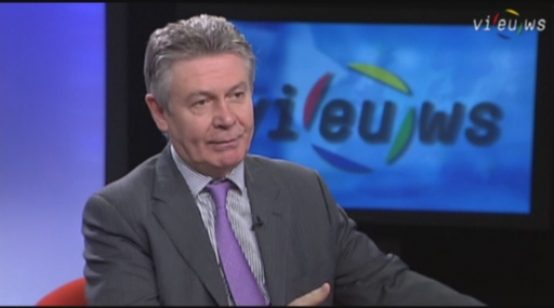 Commissioner for Trade, Karel de Gucht, discusses the EU-US Free Trade Agreement