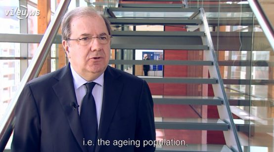 EPP in CoR – On the spot – Juan Vicente Herrera Campo: European Union response to the demographic challenge