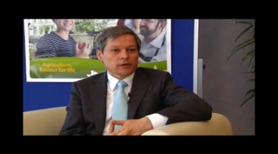 EU Agriculture Commissioner Dacian Ciolos on the CAP Post 2013