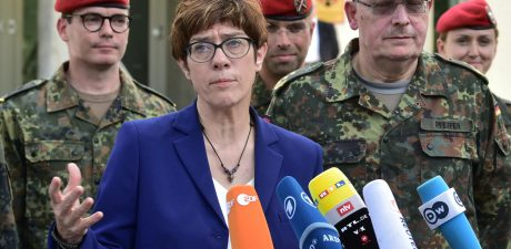 Germany Denies Military Support to France