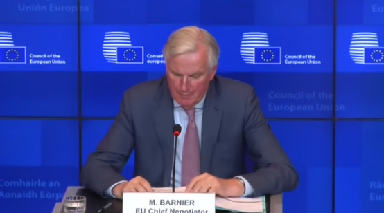Chief Negotiator Michel Barnier's Statement on Brexit